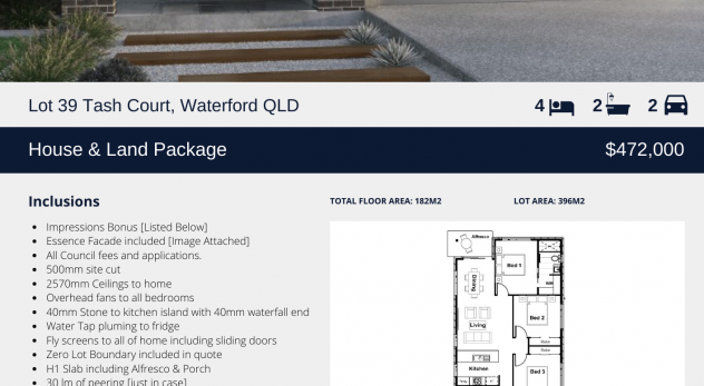 Lot 39 Tash Court, Waterford Qld
